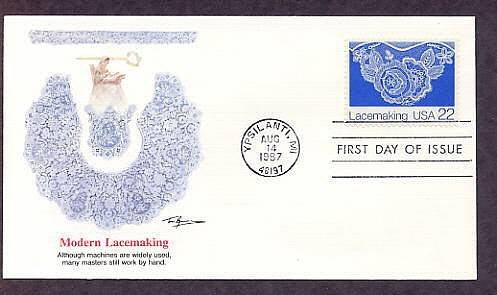 Lacemaking, Floral Lace, FW, First Issue USA