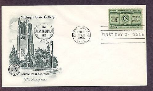 Michigan State First Issue USA