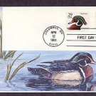 Wood Ducks, Wildlife Birds, Gill Craft, First Issue USA