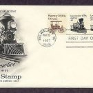 Steam Locomotive 1870s, Railroad, The American Express Train, AC First Issue USA