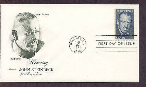 Honoring American Novelist John Steinbeck, AM First Issue USA