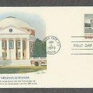 Architecture, Virginia Rotunda, University of Virginia, First Issue USA