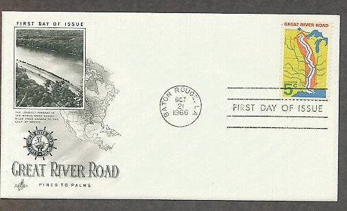 Great River Road, Longest Parkway in the World, First Issue USA