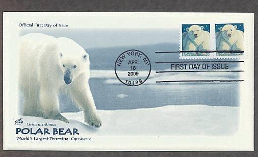 Polar Bear, Ursus maritimus, 2009 First Issue USA