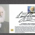 200th Birthday of Henry Wadsworth Longfellow, First Issue USA