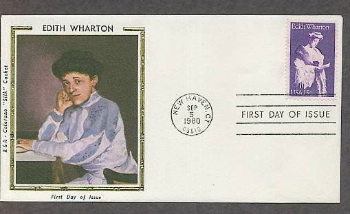 Honoring Edith Wharton American Novelist, CS First Issue USA