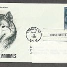 Arctic Animals, Gray Wolf, PCS, Addressed, First Issue USA
