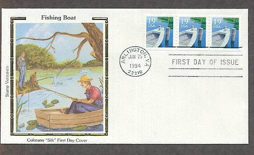 Fishing Boat, CS First Issue USA