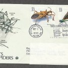 Insects and Spiders, Assassin Bug, Ebony Jewelwing, PCS, Addressed, First Issue USA
