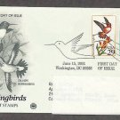 Hummingbirds, Rufous, Calliope, PCS, Addressed, First Issue USA
