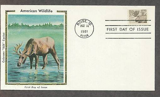 American Wildlife, Moose, CS First Issue USA