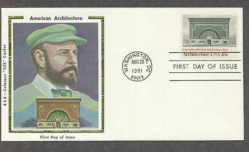 Architecture, National Farmer's Bank, Louis Sullivan, CS First Issue USA