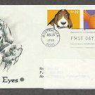 Bright Eyes, Lovable Popular Animal Pets and Companions, Dog, Goldfish, PCS FDC