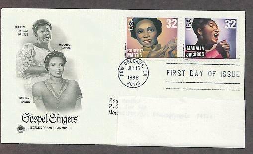 Gospel Singers, Mahalia Jackson, Roberta Martin, PCS First Issue