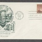American Chemical Society, ACS, Chemistry, 1951 First Issue FDC USA
