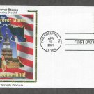 Liberty Bell, Forever Stamp, Symbol of America's Fight for Independence, CS 2007 First Issue