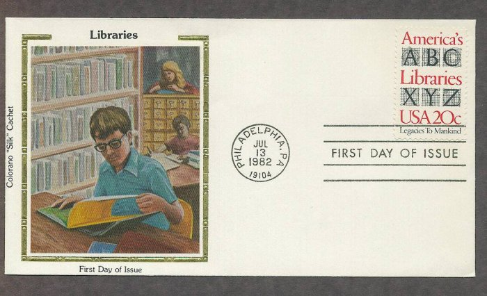 Libraries of America Educating and Helping Civilization to Advance, CS First Issue USA