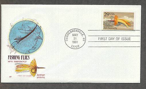Classic Fishing Flies, Apte Tarpon Fly, HF First Issue USA