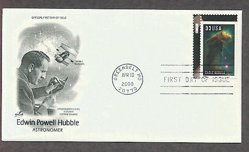 Eagle Nebula, Hubble Space Telescope Images, Edwin Hubble, First Issue USA