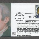 Meriwether Lewis, Lewis and Clark Expedition, First Issue FDC USA