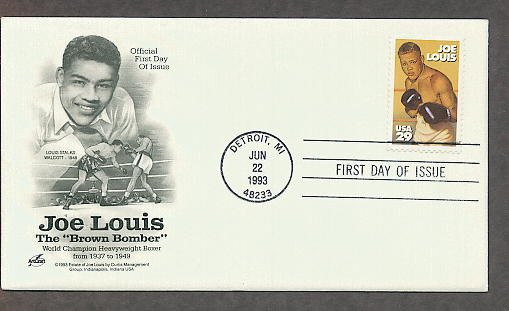 Joe Louis, World Heavy Weight Boxing Champion, AC First Issue USA