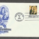 USPS Christmas Stamps, Madonna and Child, 1995, Giotto di Bodone, Child Holding Tree First Issue