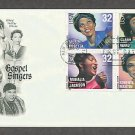 Gospel Singers, Mahalia Jackson, Clara Ward, Sister Rosetta, and Roberta Martin First Issue