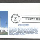 Pacific Lighthouses, Five Finger Lighthouse, Alaska, First Issue USA