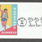 100th Year of the Running of the Boston Marathon, Heritage First Issue USA