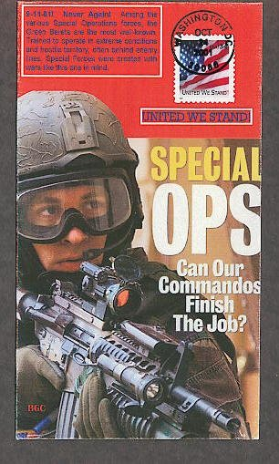Special Operations Comandos OPS, United We Stand FDC USA