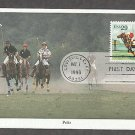 Sporting Horses, Polo Ponies, Louisville, Kentucky, Mystic First Issue USA