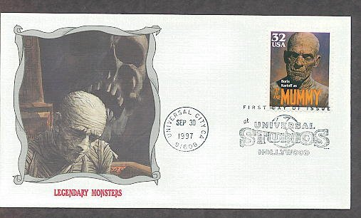 Classic The Mummy Boris Karloff Monster First Issue USA!