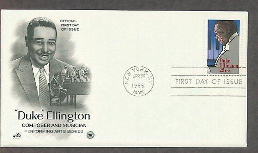 Orchestra Leader Duke Ellington, PCS First Issue USA!
