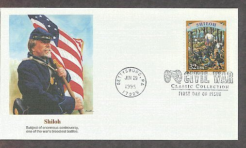 Civil War Shiloh Battlefield, Gettysburg FW First Issue USA!