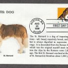 Saint Bernard Dog, Bright Eyes, First Issue USA!