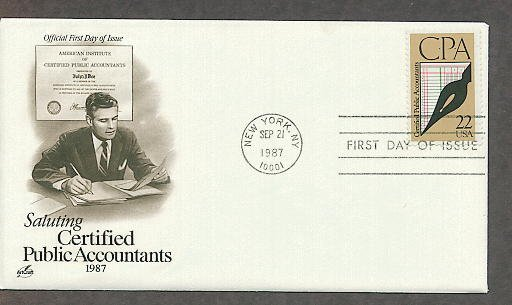 CPA, USPS Saluting Certified Public Accountants, First Issue USA!