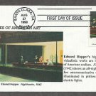 American Art, Edward Hopper, Nighthawks, BG First Issue USA!