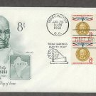 Honoring Mahatma Gandhi, Hindu Leader India, AM First Issue USA!