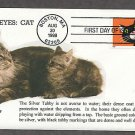 Cats, Bright Eyes, Silver Tabby First Issue USA!
