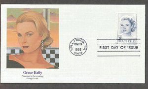 Honoring Actress Grace Kelly,  The Princess of Monaco, FW 1993 First Issue USA!
