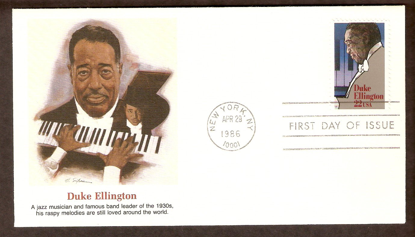 Orchestra Leader Duke Ellington, FW First Issue USA