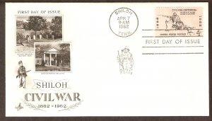 Civil War, Battle Shiloh Rifleman, Tennessee, AC First Issue USA