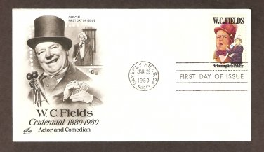 Honoring Actor and Comedian W. C. Fields, First Issue USA