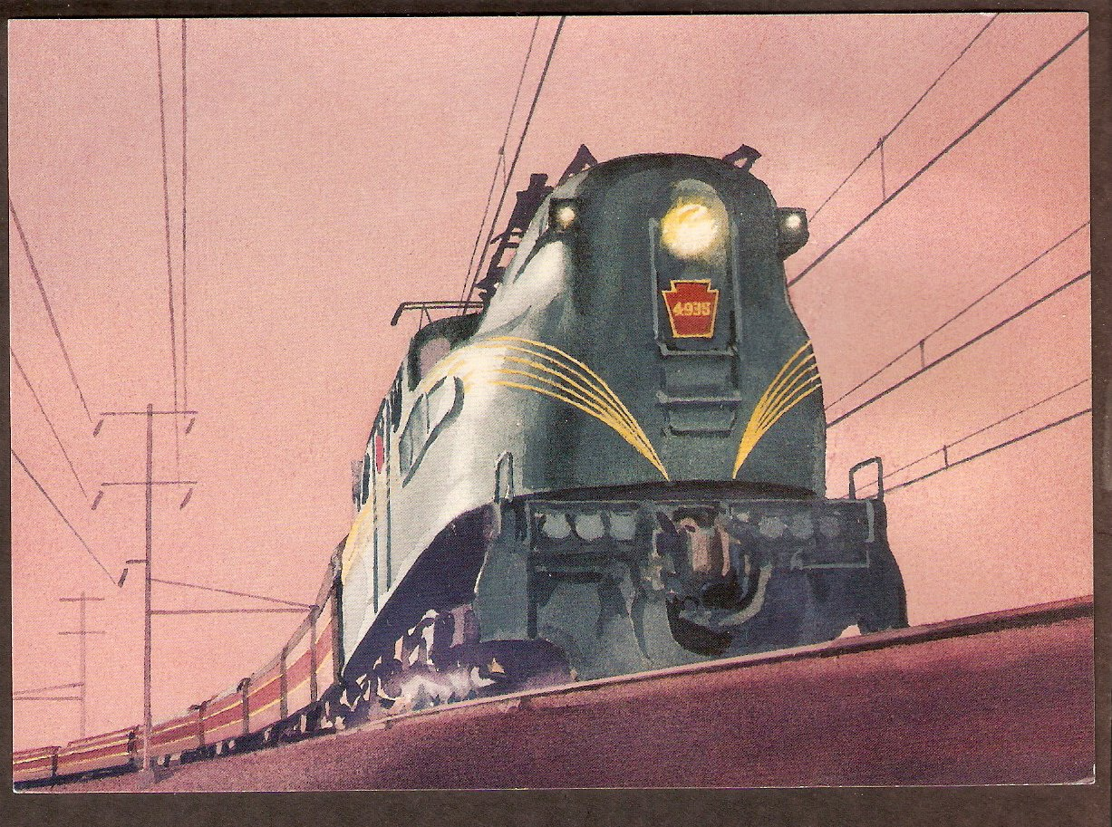 Streamliner 20th Century Limited J3A Locomotive USPS US First Issue FDC USA