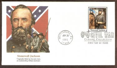 Civil War, Stonewall Jackson, Confederacy, Outstanding Military Tactician, First Issue USA