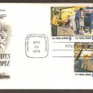 Honoring USPS Postal People, US Postal Service, First Issue USA