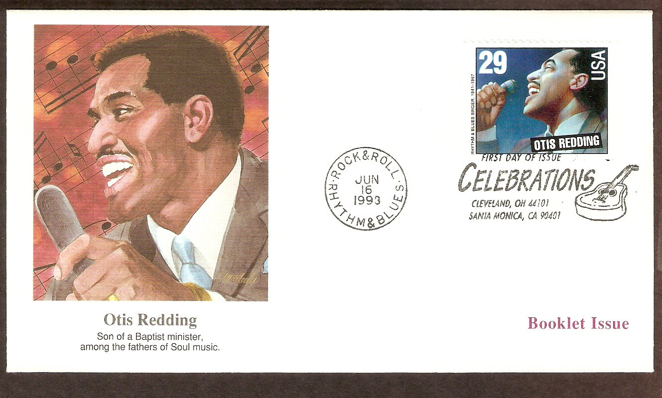 Honoring Otis Redding, Rhythm and Blues Singer First Issue USA