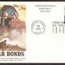 World War II, Uncle Sam Buy War Bonds, First Issue USA 1940s