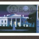 President Ronald Reagan, White House, First Issue USA