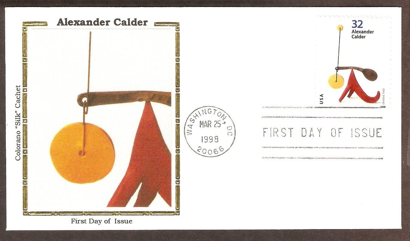 Alexander Calder Untitled 1965, First Issue USA